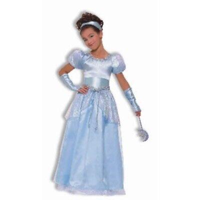 Mädchen Kind Designer Cinderella Prinzessin Kostüm (Kleines Mädchen Cinderella Kostüme)