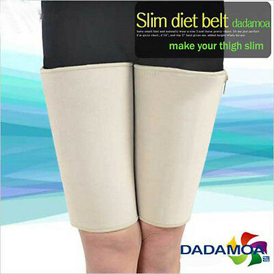 Slim Deit Belt Thigh Slimming Shaper Compression Burn Fat Sweat Weight Loss
