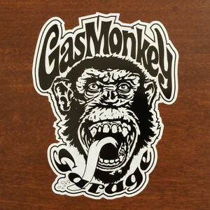 """★★ GAS MONKEY GARAGE STICKER DECAL ★ 6"""" SIZE ★ Fast and Loud ★★"""