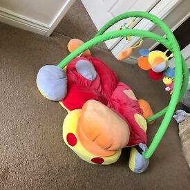 Baby floor play mat mama and papas