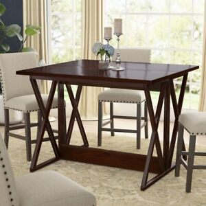 Bolger Counter Height Extendable Dining Table by Andover Mills
