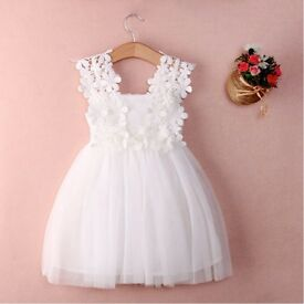 Baby Flower lace dress