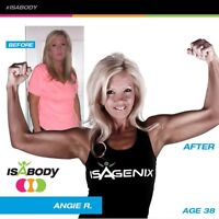 Lose 10 to 20 lbs in 1 month with Isagenix!  $345 cad