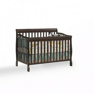 Kidiway 4-in-1 Convertible Crib Jessie - Java