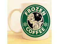 Frozen Inspired Coffee Mug