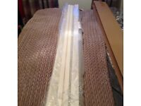 Wooden vertical blind