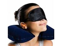 3 in 1 Travel Set Air Cushion Neck Pillow