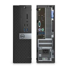 New Dell OptiPlex 5040 SFF PC i5-7500 8GB RAM 500GB HDD Windows 10 Pro bargain warranty