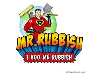 RUBBISH REMOVAL / CHEAPER THAN SKIP HIRE / GARDEN CLEARANCE /HOUSE CLEARANCE