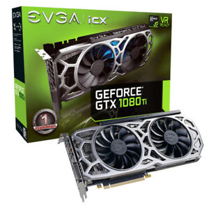 eVGA 1080 ti SC2 video card