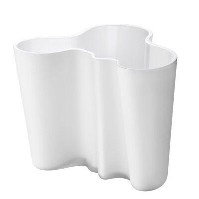iittala Alvar Aalto Savoy Vase 160 mm Glas opalweiß weiß