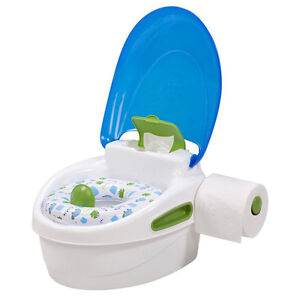 Blue 3 In 1 Potty Chair, Seat & Stool baby petit pot bebe