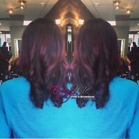 FREE  Cut with any color service