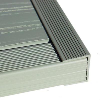 "uPVC Decking ""U"" Channel 2400mm"