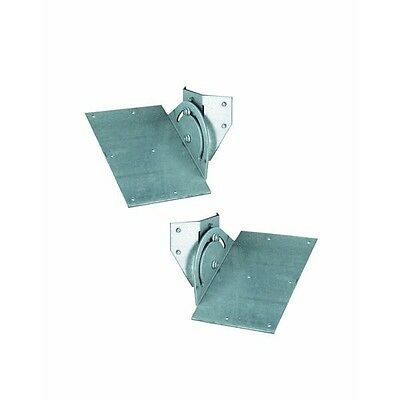 - Galvanized Stove Pipe Chimney Open Cathedral SSII Roof Support Bracket RSK