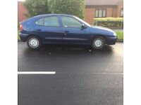 51 plate Renault Megane 1.4 with 7 months test