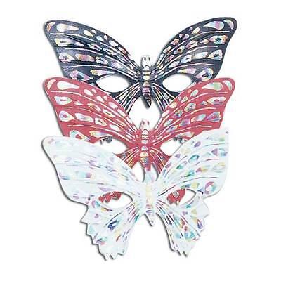 ASKE. ASSTD, MASQUERADE EYE MASK #DE (Schmetterling Masquerade)