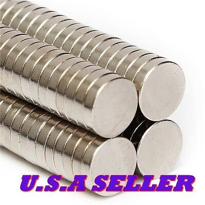 50pcs 8mm X 2mm N50 Super Strong Disk Round Magnets Rare Earth Neodymium Magnets