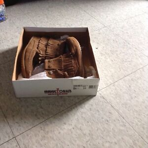 Brand new brown moccasins, size 5.5 Cambridge Kitchener Area image 8