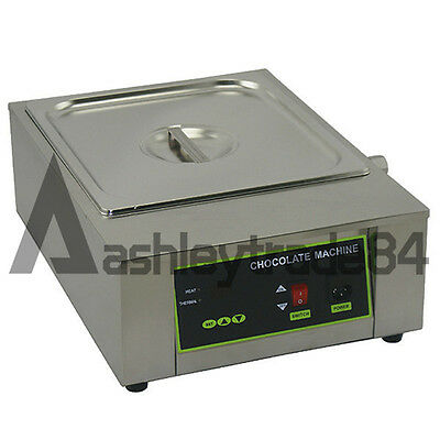 Single Tank 8.5kg Chocolate Tempering Machine Chocolate Melting Machine 220v