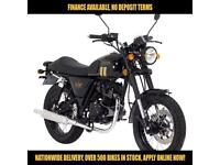 2017 LEXMOTO VALIANT EFI 125CC 0% DEPOSIT FINANCE AVAILABLE