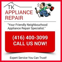 CHEAP APPLIANCE REPAIR! Licensed & Insured (416) 400-3099 !!