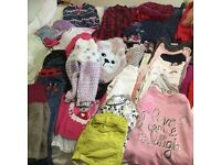 Girls clothes Autumn/ winter clothes bundle 3-4 years