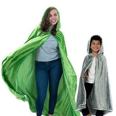 Everfan Hooded Cloak Cape - Adult and Kid Sizes - Medieval cosplay costume - Capes And Cloaks