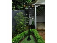Victorian Style Lamp Post - Choice of either a 2 head or 3 head unit