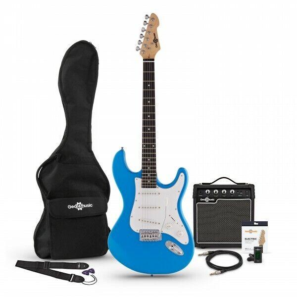 LA Electric Guitar + Amp Pack Blue