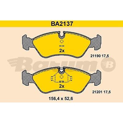 ORIGINAL BARUM BA2137 Bremsbelag Satz vorne Opel Vectra