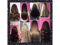 Hair extensions and beauty
