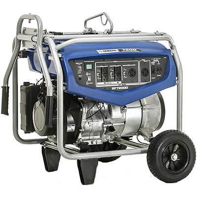 Yamaha Ef7200d - 7200 Watt Professional Portable Generator