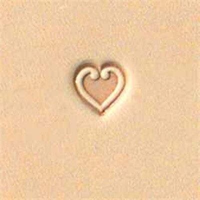 Craftool HEART STAMP TOOL 68085-00 Tandy Leather Stamps Craft Stamping Tools