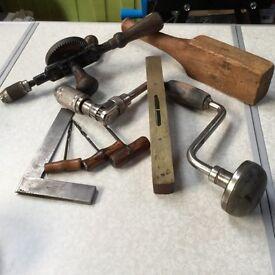 Lot of vintage tools