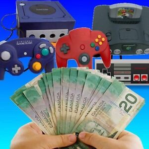 Wanted: Buying ALL Nintendo Games & Systems! N64,GameCube,SN