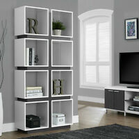 Kayla Reclaimed-Look Room Divider/Bookcase