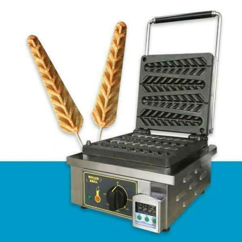 Lolly wafel maker ijzer machine apparaat