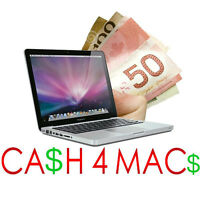 CA$H FOR iMAC,MACBOOKS, Mac Mini, iPADs, MacPros. We REPAIR Macs