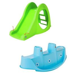 Slide and seesaw