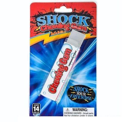 Shocking Gum - Electric Shocking Chewing Gum Shock Joke Gag Gift Prank Funny Toy ()