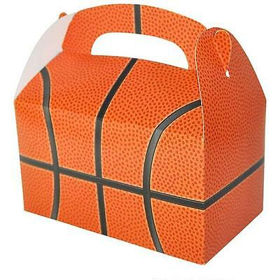 36 BASKETBALL TREAT BOXES Birthday Loot Goody Prize Gift Bag #ST68 FREE SHIPPING - Basketball Goodie Bags