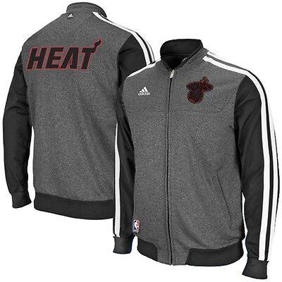 NEW Authentic Adidas Miami Heat CHRISTMAS DAY Warm Up Jacket NBA XL XXL $109  Adidas Nba Warm Up Jacket