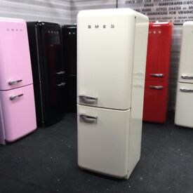 RESPECTED SELLER. Cream smeg fab32.inc warranty. Can deliver