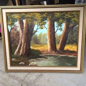 Oil painting - Ken Metz original