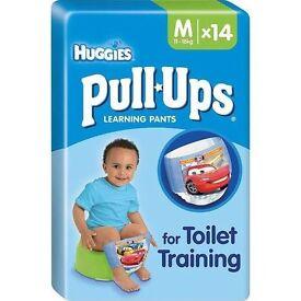 Huggies pull ups nappies pants