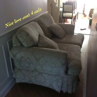 Nice Love Seat ... looking for a new home