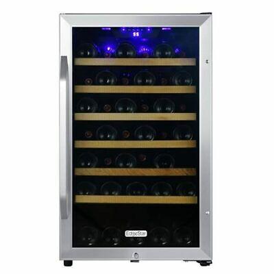 """Edgestar - 44 Bottle 20"""" Free Standing Wine Cooler - Reversi"""