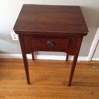 Wooden entry table/sewing machine