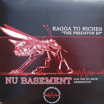 "2 x 12"" UK HARDCORE / BREAKS**RAGGA TO RICHES - THE PREDATOR EP***23288"